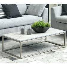 brushed nickel coffee table nickel coffee table nickel glass coffee table worldsapart me