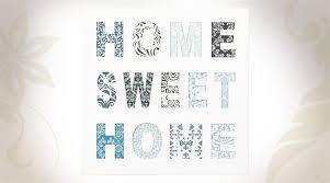 home sweet home decoration décoration murale home sweet home coloris blanc et motifs divers