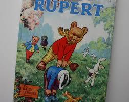 rupert bear etsy