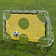 lion sports 3 in 1 soccer goal net trainer 6 u0027 x 4 u0027