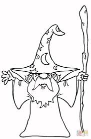 wizard coloring pages kids coloring free kids coloring
