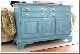 Painted Bedroom Furniture Before And After by Navy Blue Painted Vintage Dresser By Twice Loved Furniture Best