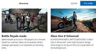 player unknown battlegrounds xbox one x enhanced playerunknown s battlegrounds erscheint am 12 dezember 2017 im