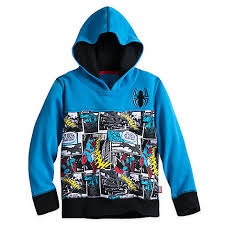 zip hoodie for boys fleece outerwear marvel shop