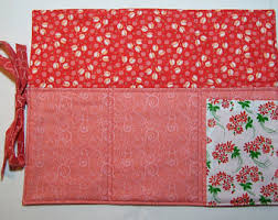 Shabby Chic Placemats by Red Placemats Etsy