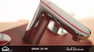 Grohe Widespread Bathroom Faucet Grohe 20 199 Double Handle Widespread Lavatory Faucet Youtube