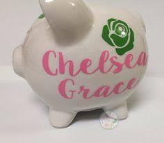 Customized Piggy Bank Kelly Baby Essentials My First Piggy Bank For Piggy Bank