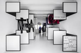 Interior Frames Architects Creates 3d Magazine Experience In Frame Store Amsterdam
