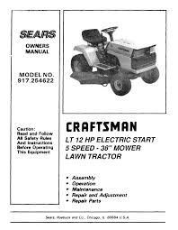 craftsman 917 254622 owner s manual