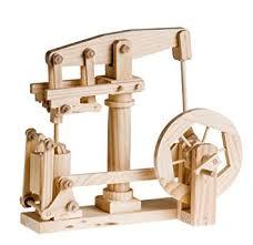 wooden kit timberkits beam engine wooden automata kit co uk toys