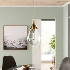 what is the best lighting for a sloped ceiling 1 light single teardrop pendant