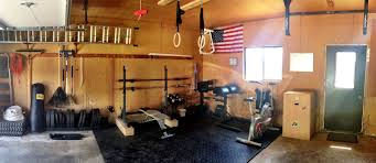 home gym ideas garage
