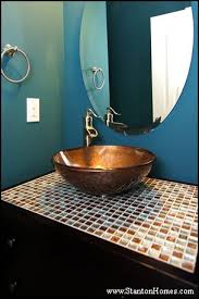 bathroom tile countertop ideas home building and design home building tips granite