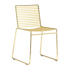 Gold Dining Chairs Interiors Studio Wire Dining Chair Gold Modern Dining