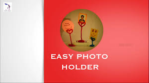 diy photo holder children art u0026 craft best out of waste