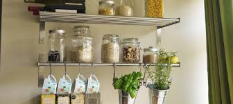space saving kitchen storage