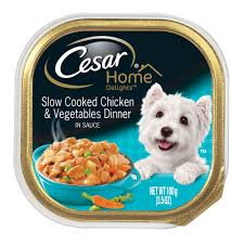 cesar delights chicken and vegetables dog food petco