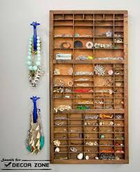 Jewelry Storage Cabinet 20 Original Jewelry Storage Ideas And Solutions