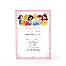 princess party template free printable invitation design