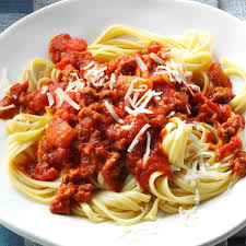 stick to your ribs pasta sauce recipe taste of home