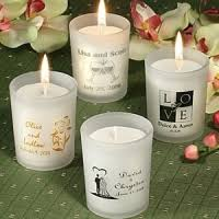 candle favors candle wedding favors cheap inexpensive affordable wedding