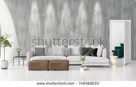 livingroom in modern interior living room armchairs on stock illustration