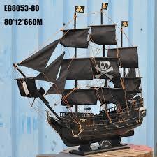 aliexpress com buy black pearl home wooden sailing boat model