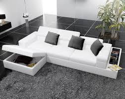 modern white leather corner sofas with underneath storage google