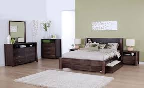 forty winks modern wood stained bedroom furniture