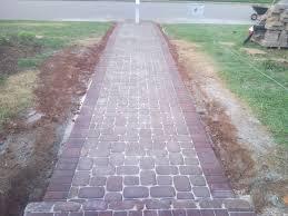 Interlocking Patio Pavers Lowes Garden Interesting Pavers Lowes For Cozy Garden Walkway Design