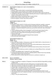 resume exles for registered registered pacu resume sles velvet