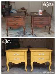 Painted Bedroom Furniture Before And After by Trash To Treasure Nightstand Transformation Diy U0027s U0026 Home