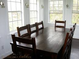 wooden black dining room table and chairs comfortable dining room