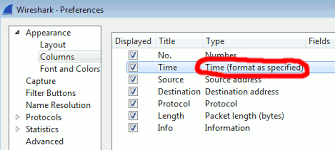 time zone layout wireshark showing wrong timezone times for packets newspaint
