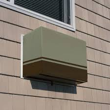 Exterior Central Air Conditioner Cover - wall air conditioner covers for winter wall decoration ideas
