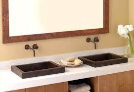 vessel sink bathroom ideas vanities square lavatory sink square sink vanity home depot