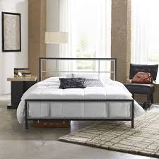 Pltform Bed by Amazon Com Hanover Hbedlinc Qn Lincoln Square Metal Platform Bed