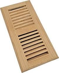 homewell oak wood floor register drop in vent with der 4