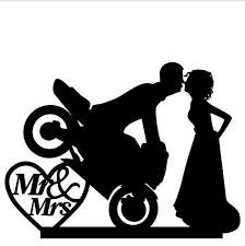 motorcycle wedding cake toppers groom custom cool motorcycle wedding cake topper