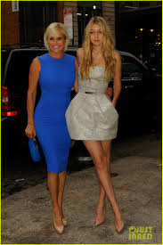 tolanda foster clothes gigi hadid poses with mom yolanda foster at the daily summer cover