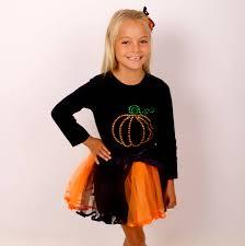 halloween long sleeve t shirts halloween diamante pumpkin long sleeve t shirt by candy bows