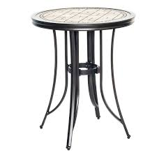 Tile Bistro Table 100 Bistro Set Outdoor Bar Height Bar Height Dining Table Bench