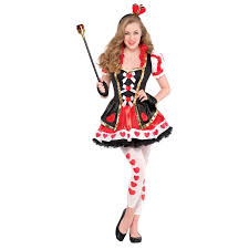 queen of hearts costume age 12 14 years