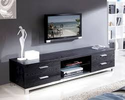 console table ideas black modern tv console table contemporary