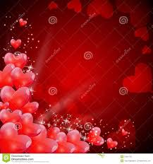 heart shaped balloons valentines day card with heart shaped balloons stock vector