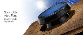 solar attic vent fan solar attic ventilation fan to vent heat and cost trusolar