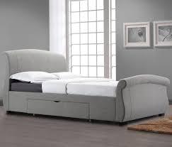 bel étage winchester upholstered sleigh bed frame u0026 reviews
