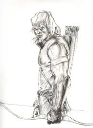 green arrow coloring pages coloring pages