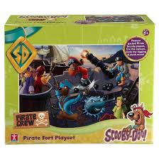 scooby doo pirate fort action figure target