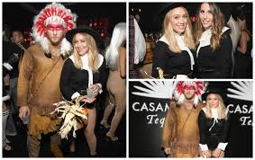 halloween costume native american hilary duff sorry for her controversial native american halloween